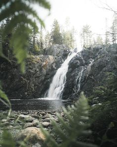 Scandinavian, Waterfall, Road Trip, Wanderlust, Hiking, Adventure, Travel Europe, Nature, Summer