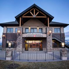 Four Seasons Veterinary Specialists - Animal Arts Exterior Color Combinations, New Hospital, Rustic Exterior, Hospital Design, Vet Clinics, Clinic Design, Metal Buildings, Four Seasons, Interior Architecture