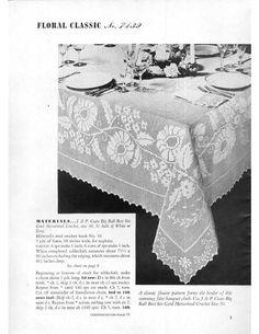 Table Topics, Spool Cotton Co., 1938 - Christine Anderson - Picasa Web Albümleri