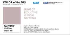 APPart – Mobile Art – Pantone Color of the Day – 'Violet Ice' – TheAppWhisperer