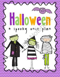 Halloween Fun! - Enter to win a Halloween unit plan! :) Happy Halloween!.  A GIVEAWAY promotion for Halloween Unit from Miss Jessica's Shop on TeachersNotebook.com (ends on 10-31-2013)