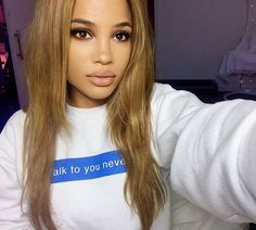 «ttyn ❤️ sweatshirt from nastygal, ***EDIT*** sorry!! I always forget to name my makeup ( Lips: belle de jour - #nars ... Eyes- #KatVonD monarch palette)»