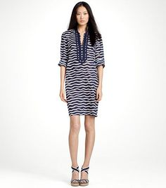 """Tory Burch Mini Dress - favorite """"go to"""" piece in the warmer months since you can play it up or down"""