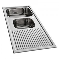JAVA SINK UNDERCOUNTER DOUBLE BOWL WITH PLUG & WASTE 880 X 500 X ...