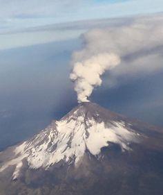 Volcán Popocatépetl, México 2016