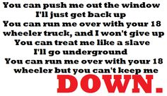 Pink - 18 Wheeler I Wont Give Up, Let It Be, Pink Lyrics, Get Back Up, Giving Up, Letting Go, Daddy, Things To Think About, 18th
