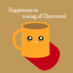 Cartoon Chocomel #Chocomel #Cocoa #Hot #Chocolate #Cartoon