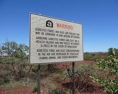 Wittenoom, Australia home to the greatest industrial disaster in Australian history.