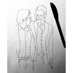 Name a more iconic duo I'll wait..😊 mcfassy drawing as always on Tuesday💖 inspired from the X-Men: First Class premiere #artwork #fanart #sketch #drawing #jamesmcavoy #jamesmcavoyrealdeal #art #cherik #mcfassy #artist #eriklehnsherr #charlesxavier #michaelfassbender #fassy #fassbender #xmen #xmenfc #xmenapocalypse #scetchbook #doodle #doodles #filmschool #specialeffects #academicart #academic #inspiration #actor #instaart #professorx