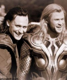 This is what they looked like when they still called themselves brothers.