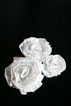 pretty cloth flowers