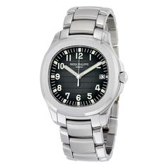 Patek Philippe Aquanaut Black Dial Stainless Steel Automatic Watch 5167-1A