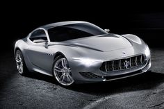 Maserati Alfieri Concept #car #concept #maserati