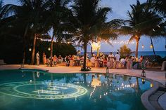 Mexico Destination Wedding - Photos by Brandon Kidd Photography - Save the Date & Logo by Prim & Pixie