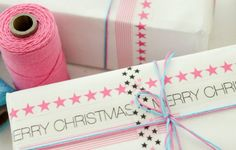 Beautiful presents with washi tape // Envolver regalos con washi tape
