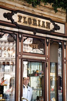the famous cafè Florian in Venice