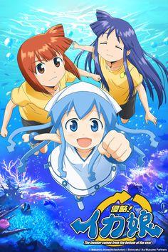 Squid Girl Anime ENG-Sub