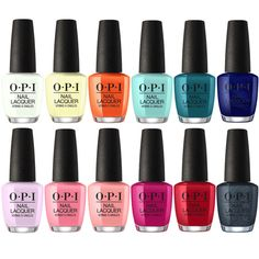 OPI Lacquer Summer 2018 Grease Collection Set Of 12
