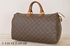 Louis Vuitton Monogram Speedy 40Malletier Hand Bag M41522