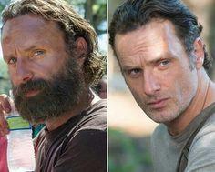 Rick - Avant et après le rasage