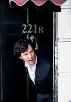 Benedict Cumberbatch playing Sherlock Holmes.  Bogey reminds me a lot of Sherlock!  He's pretty smart!