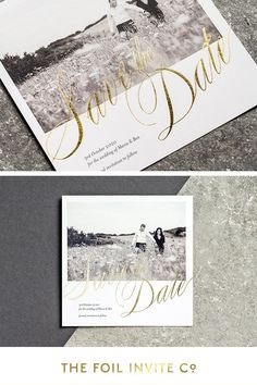 Romantic Wedding Ideas - send personalised save the dates using your favourite photo.   #WeddingIdeas #SavetheDate #Romantic #WeddingDay Uk Photos, Foil Stamping, Save The Date Cards, Photo Cards, Weddingideas, Dates, Invitations, Romantic Weddings, Your Favorite