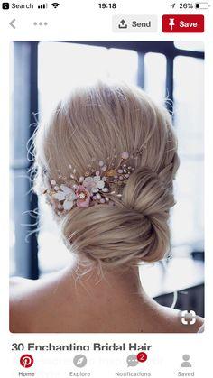 Inspiration Hairstyle - Samantha for Hanna 's wedding on 2018-06-02