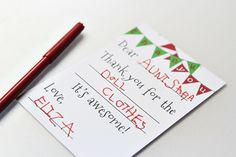 Free Fill-In-the-Blank Thank-You Cards