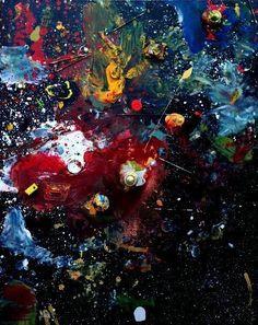 Stars Nebulas, Angels & Rainbow Bottle