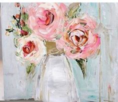 Simple elegance – Garden Likes Flower Canvas, Flower Art, Watercolor Paintings, Portrait Paintings, Flower Paintings, Abstract Portrait, Painting Flowers, Acrylic Paintings, Art Paintings