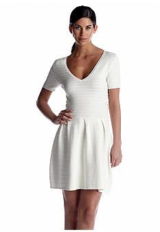 French Connection Ribbed Grace Knit Dress