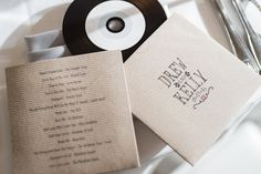 Wedding favors CD   Kelly and Drew's Wedding » Two Birds Photography