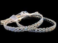 Wedding Crowns.Stefana.Orthodox Ceremony by RaniaCreations on Etsy