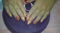 Summer nails palmboom