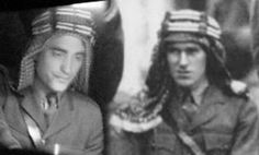 Tumblr The Real TE Lawrence and Rob as TE Lawrence