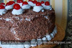 Tort Padurea Neagra Something Sweet, Cooking Recipes, Cake, Kitchen, Desserts, Food, Sweets, Kitchens, Romanian Recipes