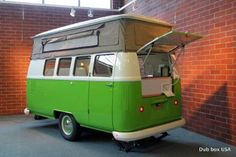 Dub Box USA camper--VW Bus type trailer--Cool!!