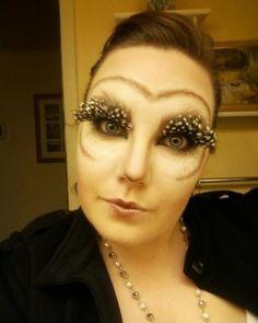Owl makeup effects