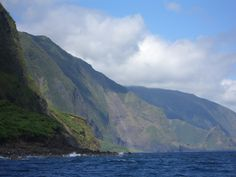 The tallest sea cliffs in the world, 2000-3000 feet high!