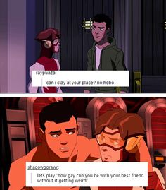 They are two of my favorite characters from Young Justice. I hope they are in season 3