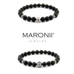 Maronii náramky :) www.maronii.cz  #maronii #jewelry #modern #style #naturalstone #silver #bracelet #2016 #beads