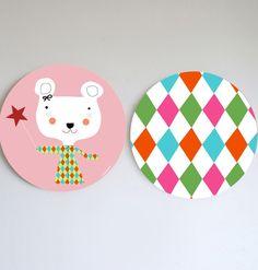 Cuadros infantiles- children modern wall art
