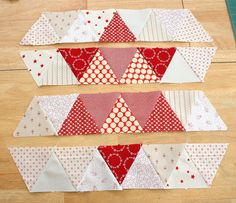 Simple Star quilt block tutorial using 60 degree triangles