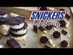 YouTube ice cream  snickers FAT bombs low carb