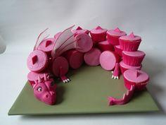 cupcake meiden draak