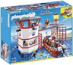 Playmobil 5539 -  Approdo della Guardia Costiera con Faro Playmobil http://www.amazon.it/dp/B00FJR0ULI/ref=cm_sw_r_pi_dp_Vv5rvb1ESP23K
