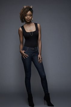 Ashleigh Murray as Josie McCoy: A gorgeous, snooty, and ambitious girl who is the lead singer for the popular band Josie and the Pussycats.