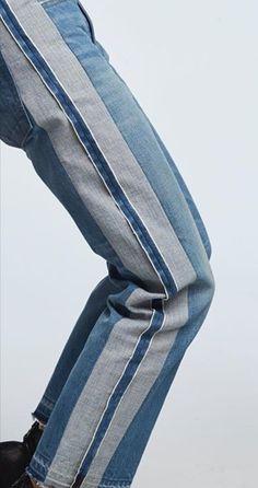 Fashion Line, Denim Fashion, Fashion Details, Denim Ideas, Denim Trends, Rare Clothing, Estilo Denim, Merian, All Jeans