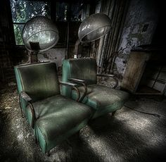 abandoned hair dryers