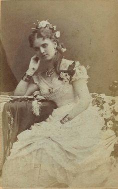 Christine Nilsson operette singer circa 1875